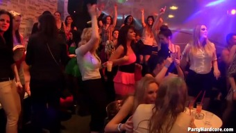 Party girls go crazy over male strippers and give out the blowjobs № 1022325 без смс